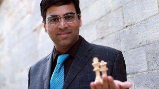 Viswanathan Anand Holds Magnus Carlsen, Norwegian In Lead