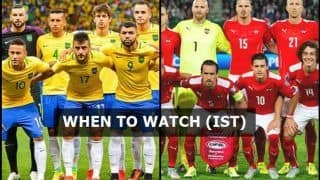 Brazil vs Austria FIFA International Friendly Live Streaming: Where And Watch on TV (IST)