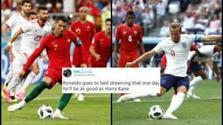 FIFA World Cup 2018: 'Cristiano Ronaldo, Lionel Messi Need to Take Lessons From Harry Kane' Claims Netizen After CR7 Misses Penalty