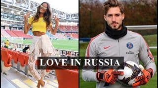 FIFA World Cup 2018: Brazilian Model Izabel Goulart Sizzles in Russia as Boyfriend Kevin Trapp's Germany Knocked Out of Cup -- PICS