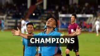 India vs Kenya Intercontinental Cup 2018 Finals Match Report Highlights: Sunil Chhetri's Brace Good Enough as India Beat Kenya 2-0 to Win Intercontinental Cup