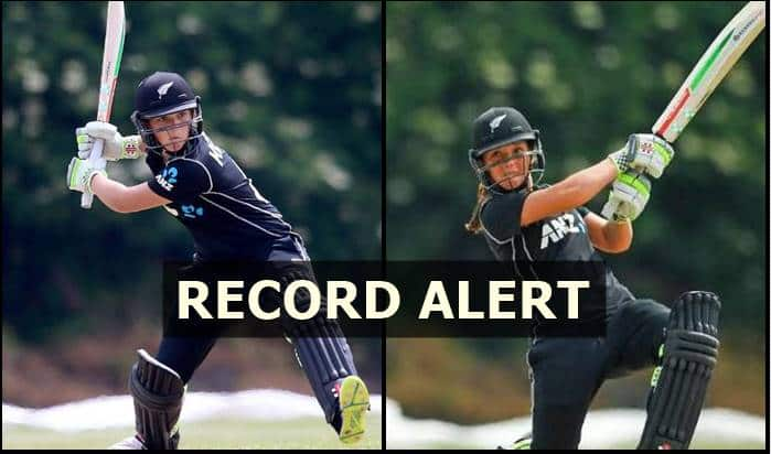 Teenager Amelia Kerr blasts highest score in women's ODI history