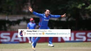 Afghanistan vs Bangladesh 2nd T20I: Rashid Khan Picks 4 Wickets, Twitterati in Awe of The Leggie
