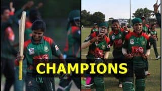 Bangladesh Women vs India Women Twenty20 Women's Asia Cup 2018 Finals Match Report: Despite Harmanpreet Kaur, Poonam Yadav's Heroics, Bangladesh Beat India by 3 Wickets to Win Asia Cup