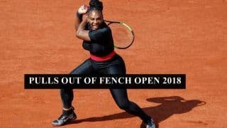 French Open 2018: Serena Williams Pulls Out of Maria Sharapova Clash Due to an Arm Injury