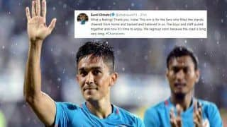 Sunil Chhetri's Tweet Post India's Intercontinental Cup 2018 Victory Over Kenya is Pure Gold