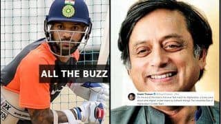 India vs Afghanistan One-Off Test: From Shashi Tharoor's Tweet to Shikhar Dhawan Aborting Practise, All The Buzz Ahead of The Historic Test