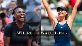 Serena Williams vs Maria Sharapova French Open 2018 4th Round Live Streaming: When And Where to Watch on TV (IST)