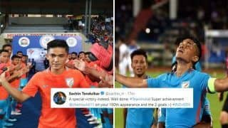 India vs Kenya: Sachin Tendulkar And Other Bollywood Celebrities Who Congratulated Sunil Chhetri's 100th International in Style