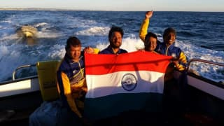 Indian Para-Swimmer Satyendra Singh Becomes First Asian to Cross English Channel -- WATCH