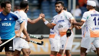 India vs Argentina Hockey Live Score Champions Trophy Hockey 2018 Highlights
