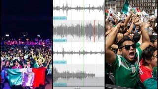 Artificial Earthquake in Mexico After Hirving Lozano Scores a Goal Against Germany in FIFA World Cup 2018 -- WATCH