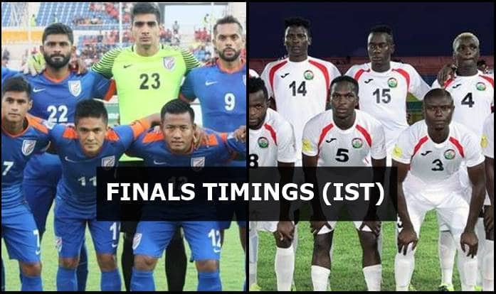 Intercontinental Cup 2018 Final, India vs Kenya