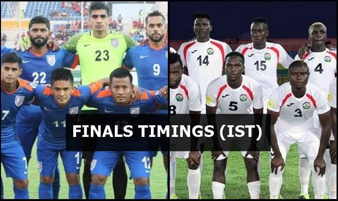 India vs Kenya Intercontinental Cup 2018 Finals Live
