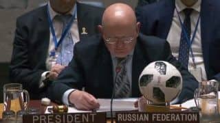 Spirit of FIFA Turns UNSC Into Friendly Football Pitch