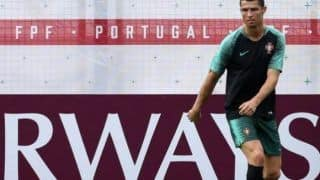 FIFA World Cup 2018: Cristiano Ronaldo Joins Portugal Training Session Ahead of Clash Against Morocco -- IN PICS