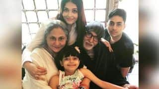 Aishwarya Rai Bachchan Posts an Adorable Picture With Amitabh Bachchan and Jaya Bachchan on Their 45th Wedding Anniversary