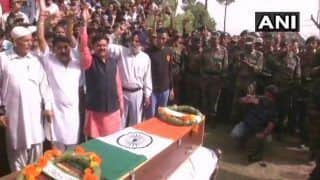 Aurangzeb Laid to Rest in Poonch, Thousands Come Out to Pay Their Last Respects to Army Jawan