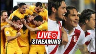 Australia vs Peru FIFA World Cup 2018 Match 37 Live Streaming: When And Where To Watch on TV (IST)