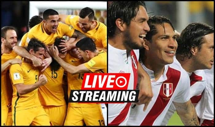 Peru lead Australia 1-0 at halftime