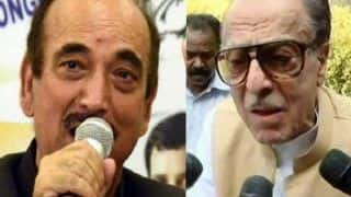 Congress Leaders Ghulam Nabi Azad, Saifuddin Soz Booked For Making 'Seditious' Remarks Against Indian Army