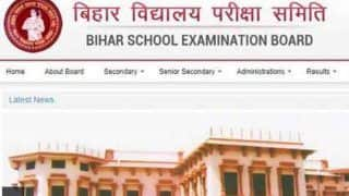 Bihar Board 10th Result 2019: BSEB Matric Result Declared, Check at biharboardonline.bihar.gov.in