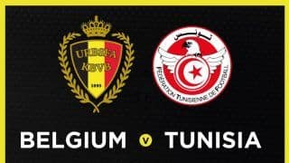 FIFA World Cup 2018, Belgium vs Tunisia, Live Scorecard And Latest Match Updates