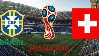FIFA World Cup 2018: Brazil vs Switzerland, Live Scorecard, Goals and Latest Match Stats