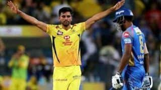 IPL 2019: Deepak Chahar Creates the Record for Most Dot Balls in IPL