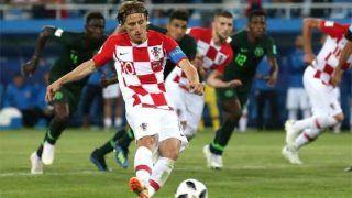 FIFA WorldCup: क्रोएशिया ने नाइजीरिया को 2-0 से हराया