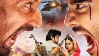 """भोजपुरी की नई फिल्म """"दुलहन चाही पाकिस्तान से-2"""" के पहले लुक में खतरनाक दिख रहे चिंटू और राहुल देव"""
