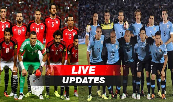 Image result for highlight photos Uruguay vs Egypt