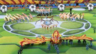 FIFA World Cup 2018 का हुआ आगाज, रूस और सऊदी अरब के बीच खेला जा रहा पहला मुकाबला