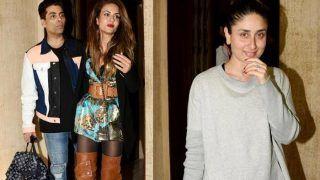 Kareena Kapoor Khan Spotted with Karan Johar, Natasha Poonawalla at Manish Malhotra's Residence; See Pics
