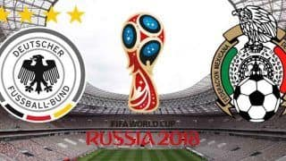 FIFA World Cup 2018:Germany vs Mexico, First half Highlights, Mexico Lead 1-0 Watch