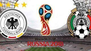 FIFA World Cup 2018:Germany vs Mexico, Highlights, Mexico Wins 1-0, Watch Goal