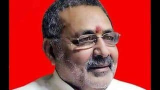 Ram Mandir-Babri Masjid Dispute: Hindus Are Losing Patience, Anything Can Happen, Says Giriraj Singh