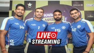 Kabaddi Masters Dubai 2018: India vs Pakistan Live Streaming: When And Where To Watch on TV (IST)