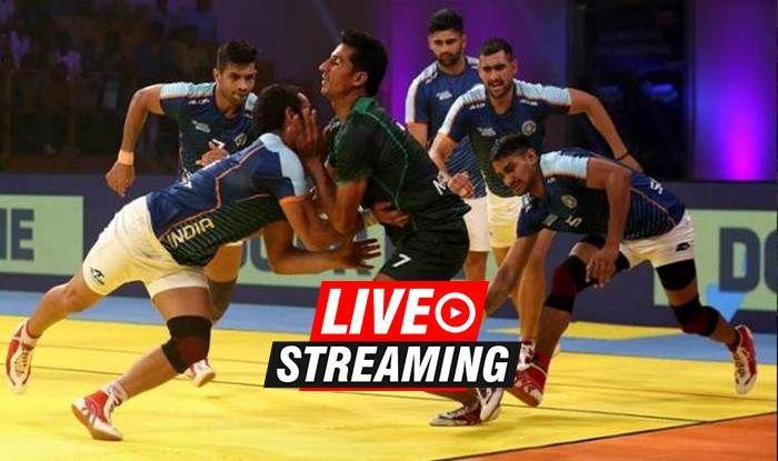 kabaddi masters dubai 2018 india vs south korea semi