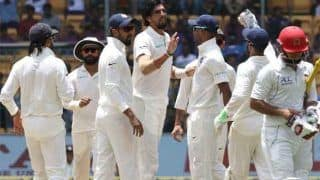 अफगानिस्तान पहली पारी में 109 रन पर ऑल आउट, टीम इंडिया ने दिया फॉलोऑन