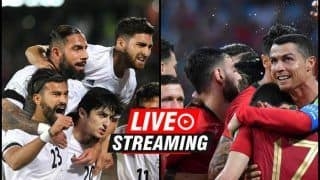 Iran vs  Portugal FIFA World Cup 2018 Match 35 Live Streaming: When And Where To Watch on TV (IST)