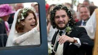 Game of Thrones' Co-stars Kit Harington and Rose Leslie Marry in Scotland