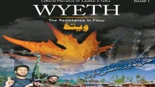 LeT Launches Online Magazine 'Wyeth', Warns Security Forces in Kashmir