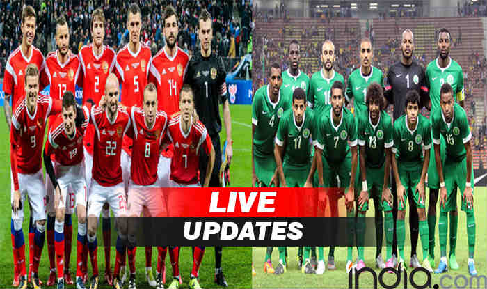 Russia Vs Saudi Arabia Fifa World Cup 2018 Live Updates Highlights India Com