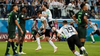 FIFA World Cup 2018, Nigeria vs Argentina, Highlights, Lionel Messi And Marcos Rojo Scores
