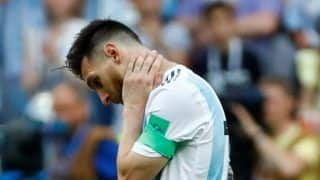 Lionel Messi Suffers Injury on Return as Argentina Lose 3-1 Against Venezuela