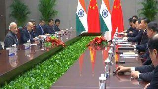 Narendra Modi in China: PM Meets Xi Jinping in Qingdao, Participates in Delegation-level Talks