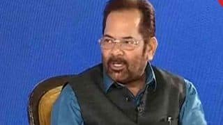 Mamata Banerjee Mega Rally: Mukhtar Abbas Naqvi Takes a Dig at Opposition Leaders, Compares Them to Defeated Wrestlers