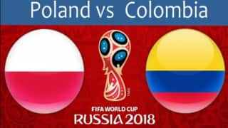 FIFA World Cup, Poland vs Colombia Live Scorecard, Goals And Latest Match Stats