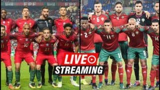 Portugal vs Morocco FIFA World Cup 2018 Match 18 Live Streaming: When And Where To Watch on TV (IST)